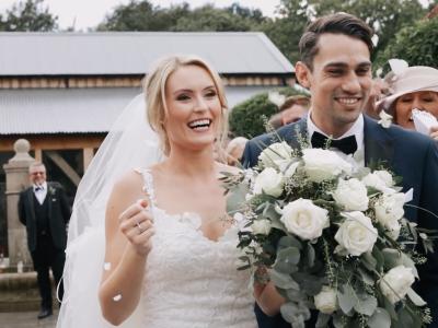 Alex & Harrison • Hazel Gap Barn Wedding • Barn Wedding Film