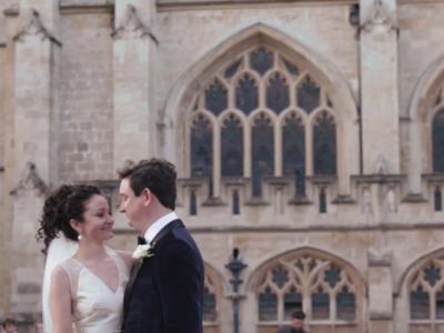 Jennifer & Ed • Bath Wedding Videography • Roman Bath Wedding