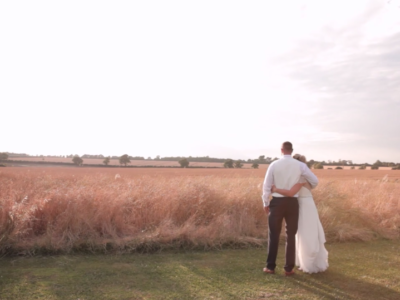 sunset wedding film