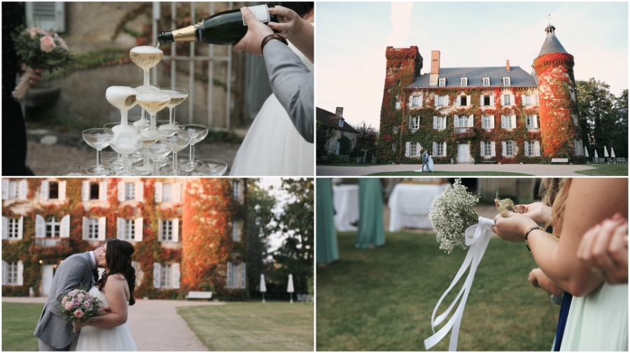 Chateau du Ludaix Wedding